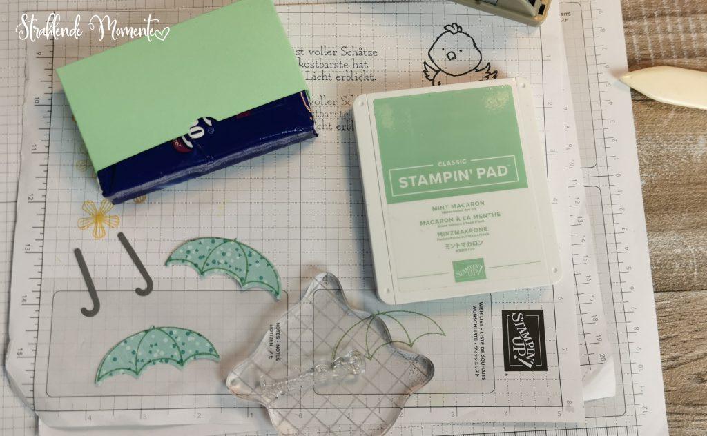Taschentuch-Box, Gute Besserung, Anleitung