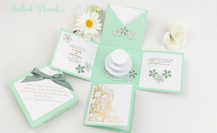 Hochzeit, Geschenke, Explosionsbox
