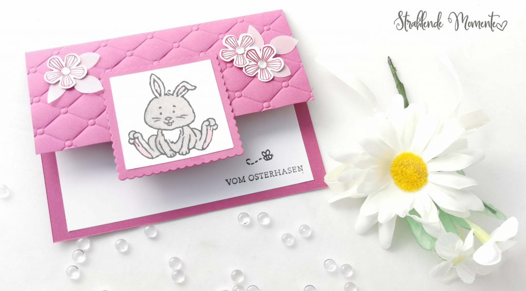 Fancy Fold Card, Ostern, Karte