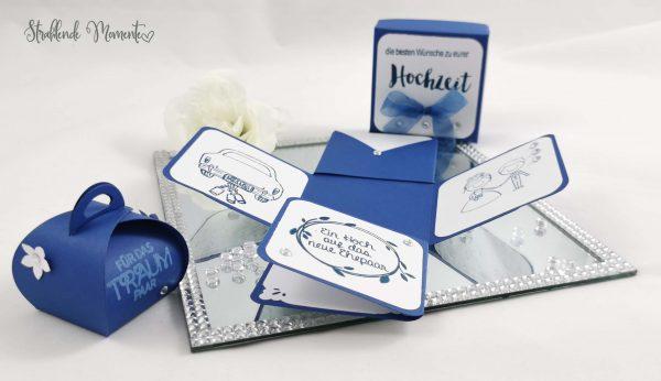 Explososionsbox, Hochzeit, Geschenk