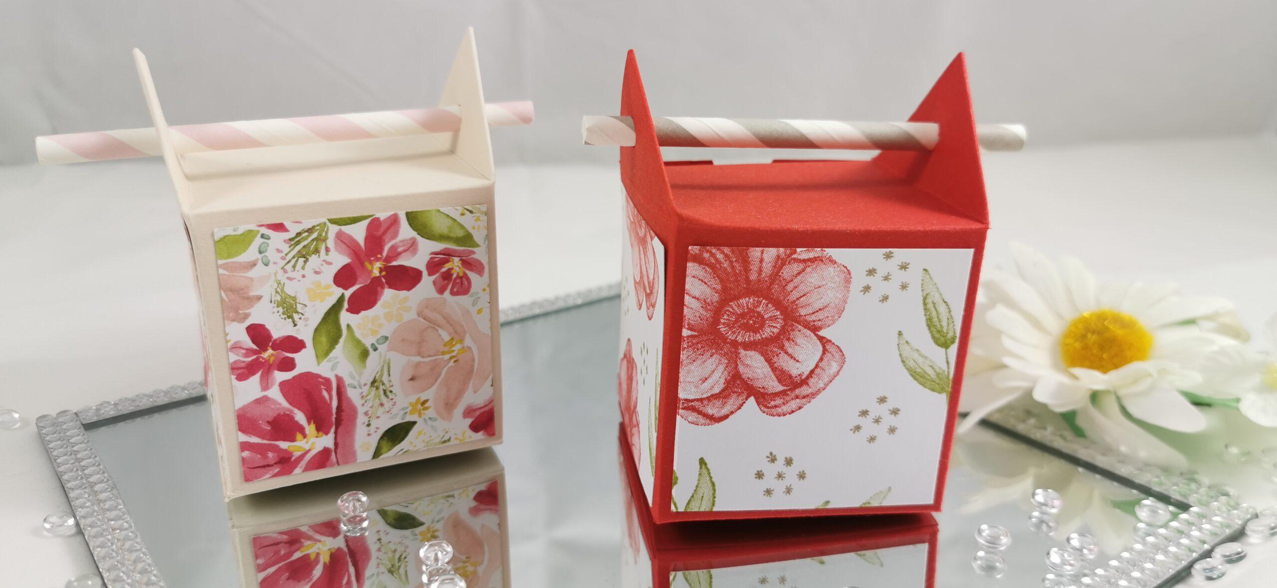 Strohalm Box, Gästegoodie, Freude