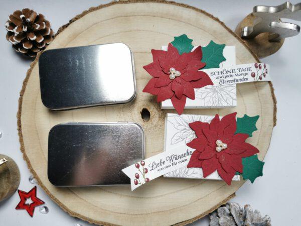 Metalldose, Stampin´ Up!, Weihnachtsgeschenk