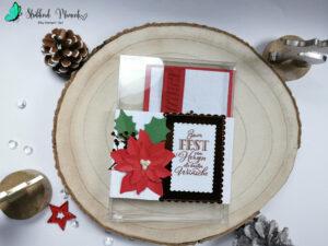 Geschenkidee, Christstern, Blühende Weihnachten, Stampin´ Up!